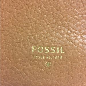 Fossil Bags - FOSSIL Blush Beige & Tan Cross Body Bag